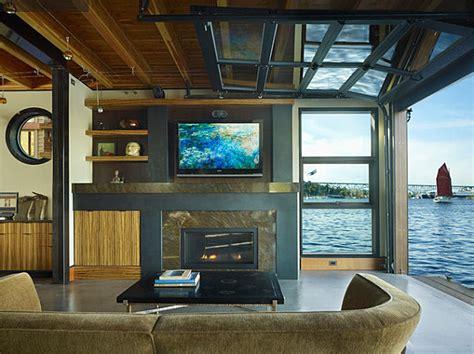 stunning houseboats  aquatic living