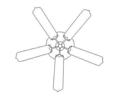 autocad ceiling fan block ceiling fan 2d dwg file cadblocksfree cad blocks free