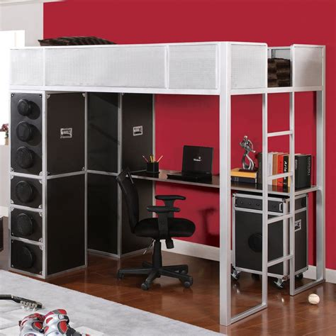 kid bunk bed with desk underneath bunk bed with desk underneath for your compact room