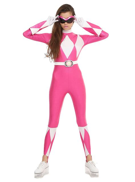 katherine johnson halloween costume mighty morphin power rangers pink ranger costume