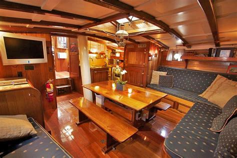 Portland Home Interiors by Sailboat Inside San Diego Boat Tours
