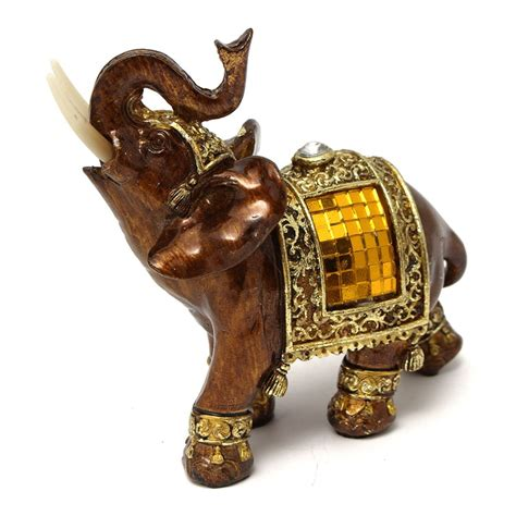 aliexpress com buy decorative figurines elephant with