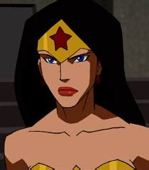 wonder woman voice actor voice of wonder woman diana young justice behind the