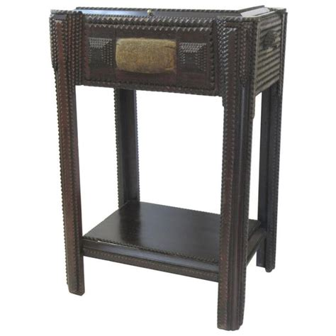 tr sewing stand side table