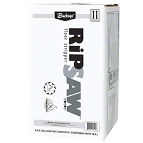 Ripsaw Floor by Buckeye 174 Ripsaw Floor 5 Gal Bell Janitorial