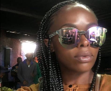 unathi hair styles unathi msengana s cornrows switch up