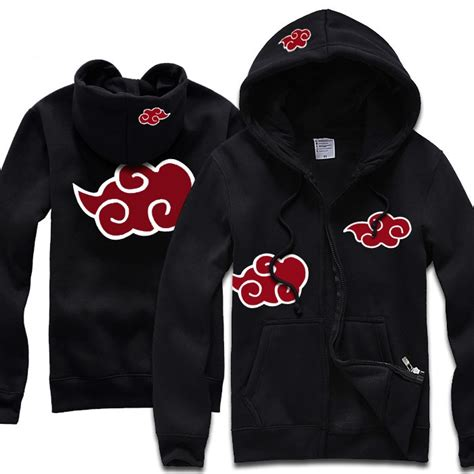 Jacket Jaket Hoodie Clan Akatsuki Utsukushi Style Anime Hitam popular akatsuki cloud hoodie buy cheap akatsuki cloud hoodie lots from china akatsuki cloud