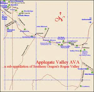 applegate valley oregon map applegate valley oregon