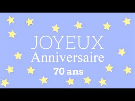 Modèles De Lettre Anniversaire Joyeux Anniversaire 70 Ans Femme