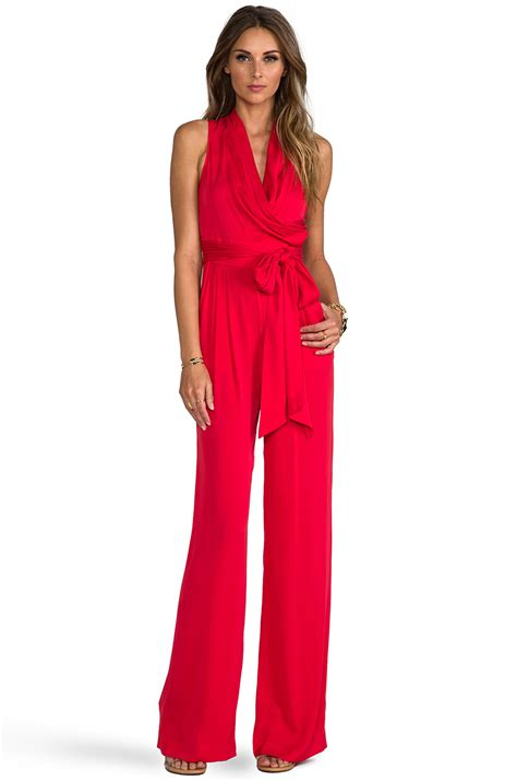 Jumpsuit Jamsuit Marion lyst catherine malandrino marion favorites jumpsuit in in