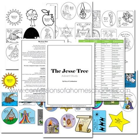 printable jesse tree ornaments free jesse tree ornaments coloring pages
