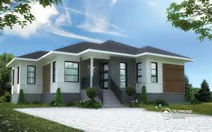 3 Bedroom Modern House Plans Beautiful 3 Bedroom Bungalow With Open Floor Plan By Drummond House Plans