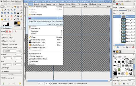 Gimp Making A Grid | nicu s how to custom grids with gimp