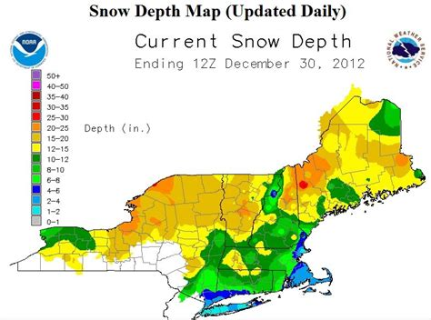 snow depth map derry pathfinders