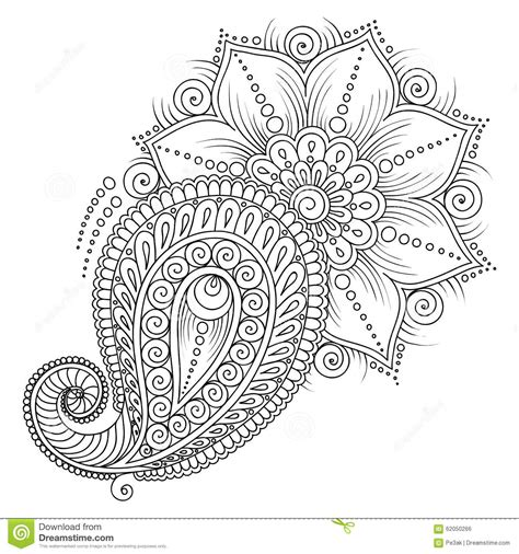 coloring pages of mehndi designs henna patterns colouring pages makedes com