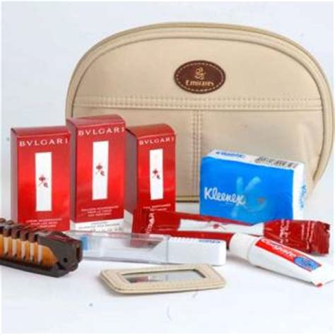 Travel Kit Bvlgari Edition From Emirates Airlines emirates launches new amenity kits gulfnews