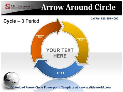 Download Arrow Circle Powerpoint Template Circle Of Arrows Powerpoint