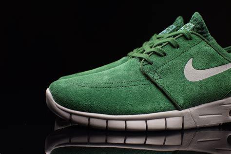 Sepatu Nike Stefanjanosky Max Pria nike sb stefan janoski max leather quot gorge green quot sbd