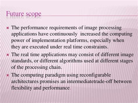 Image Processing Scope