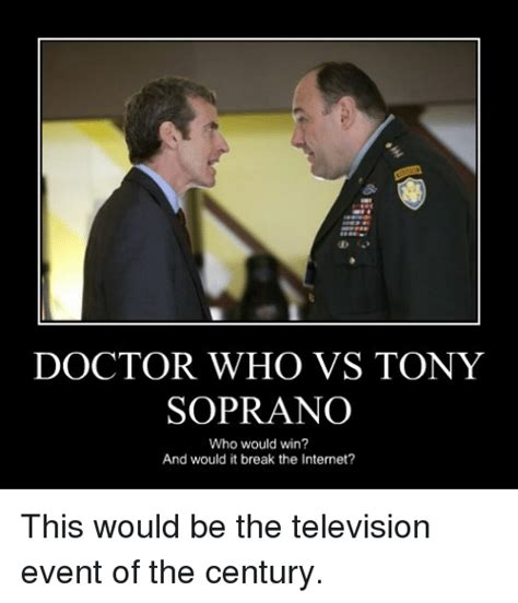 in it to win it when your doctor says stat books doctor who vs tony who would win and would it