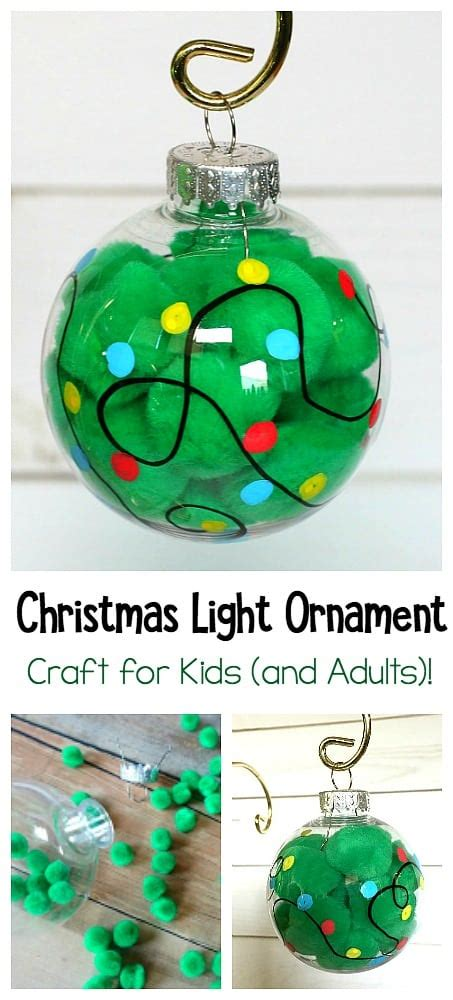 christmas lights craft for kids light ornament craft for buggy and buddy