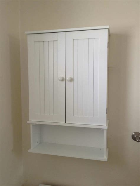 Bathroom Wall Storage by Sloan Chalk Paint Bathroom Cabinet Makeover Driven