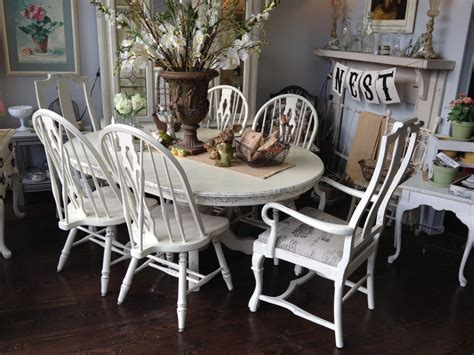 White Painted Dining Chairs White Chalk Paint Dining Table Paint Dining Room Chairs