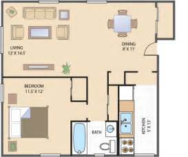one bedroom apartment floor plans 1 bedroom apartment floor plans submited images pic2fly
