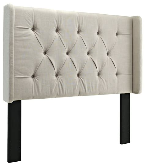cal king tufted headboard king cal king tufted panel wing headboard from prime