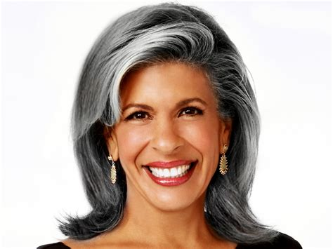 hoda hair color klg hoda imagine what if we embraced our gray hair
