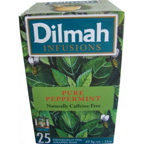Teh Dilmah Tea 100 Sacshet Peppermint Tea Teh Celup Peppermint dilmah peppermint tea