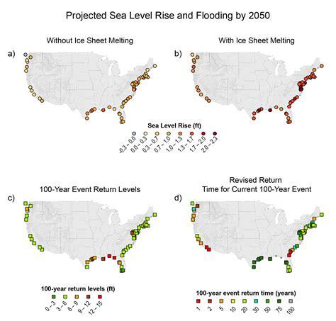 Louisiana Flood Maps by Coasts Region Noaa Climate Gov