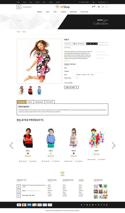 cork nine themes shopify deshop shopify ecommerce theme
