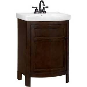 Vitreous China Vanity Top Durability Glacier Bay Tuscan 23 3 4 In W X 18 1 4 In D Vanity In