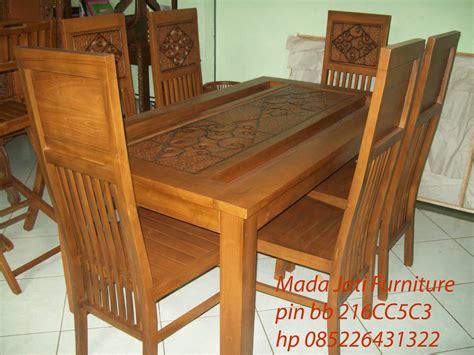 Meja Pasir Kerang kursi makan minimalis s kerang mada jati furniture