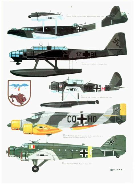 luftwaffe in colour volume 1612004555 s08 luftwaffe colour markings 1935 1945 vol 2 page 32 960 profiles luftwaffe
