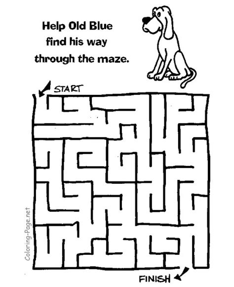 printable lizard maze kids maze games and printable channel mazes coloring