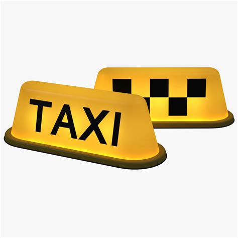 Taxi Light by 3d Taxi Light