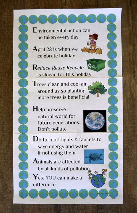 earth day poster freebie  acrostic poem format earth day earth day posters poem