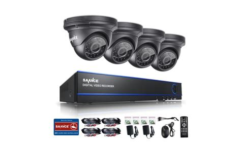 Cctv 8ch Hd 2 Megapixel sannce 8ch ahd 1080p security dvr system 4 high 2 0mp cctv cameras groupon