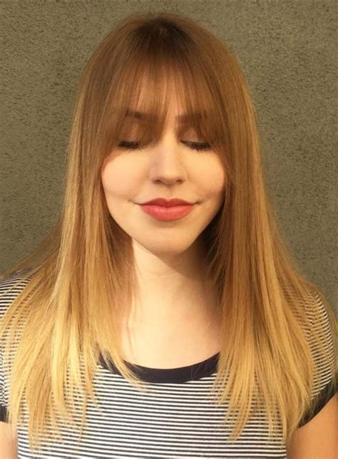 Layered Hairstyles With Bangs by Bangs With Layers Www Pixshark Images