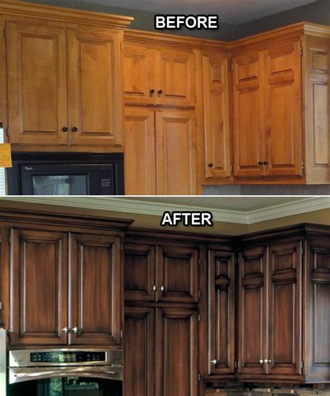 how can i refinish my kitchen cabinets 25 best ideas about refinish cabinets on how