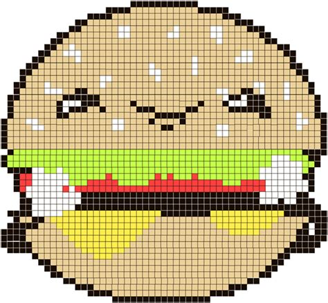 cute pattern photoshop cs6 how to create a cute burger character as a cross stitch
