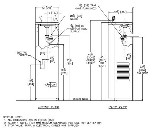 water dispenser diagram gentworks water coolers compact floor standing granite