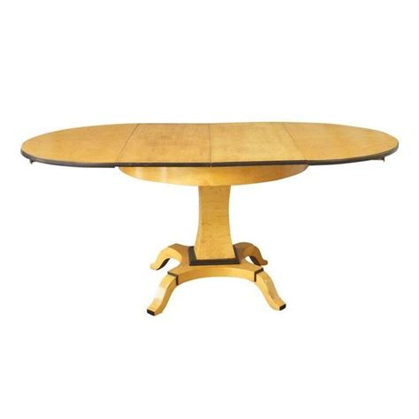 biedermeier expandable dining table for sale at 1stdibs