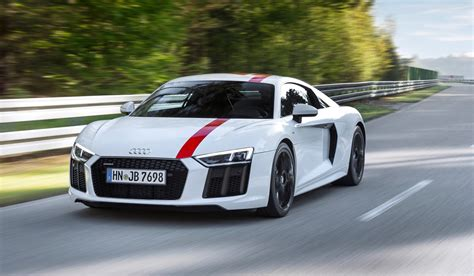 Audi R8 audi r8 v10 rws debuts with rear wheel drive the torque report