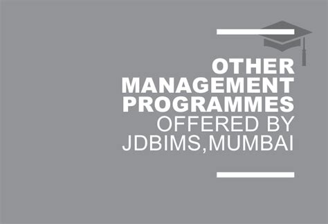 Sndt College For Mba by Mba Programmes In Jdbims Sndt Mumbai