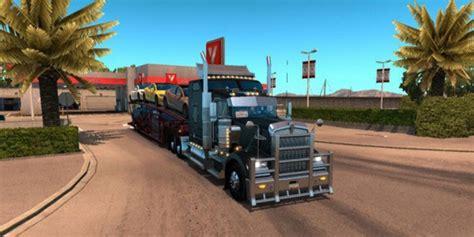 Mod Cabin by Kenworth W900 Cabin Accessories Mod American Truck Simulator Mod Ats Mod