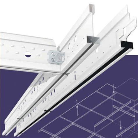 Ossature Faux Plafond by Syst 232 Me D Ossatures En Acier Pour Plafond Suspendu