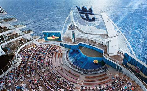 biggest cruise ship world s biggest cruises ship completes first trial